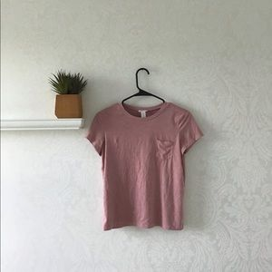Cute blush pink tshirt